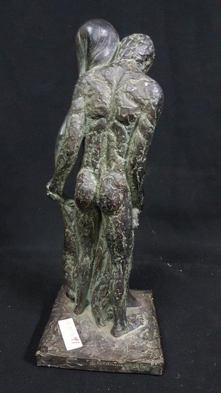 "1967 Leonardo Art Works ""Nude Lovers"" Sculpture - 3"