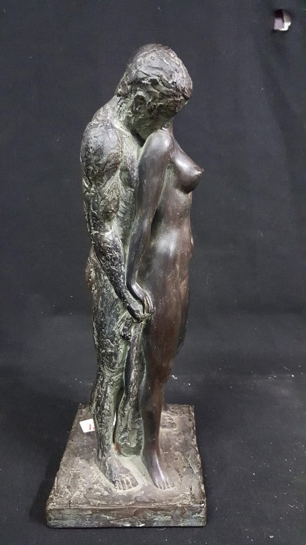 "1967 Leonardo Art Works ""Nude Lovers"" Sculpture - 4"
