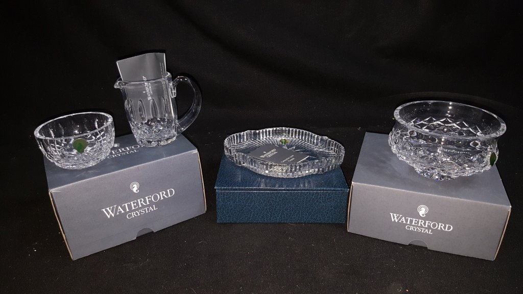 Waterford Crystal; Accent Dish, Bowl, & ....