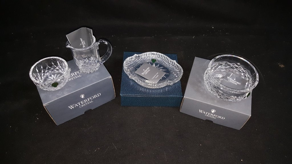 Waterford Crystal; Accent Dish, Bowl, & .... - 2