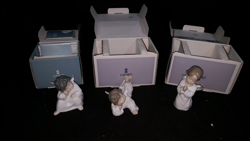Lladro Collection of Angels - 2