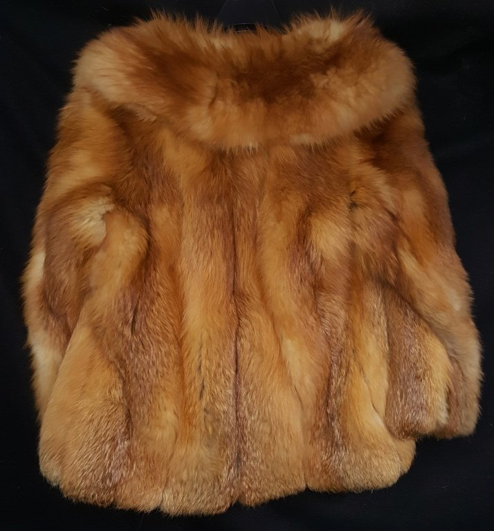 Red Fox Fur Coat - 2