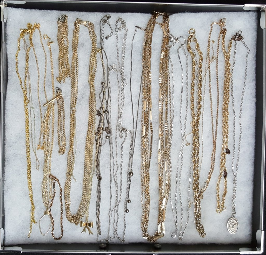 Silver and Gold Tone Chains / Necklaces