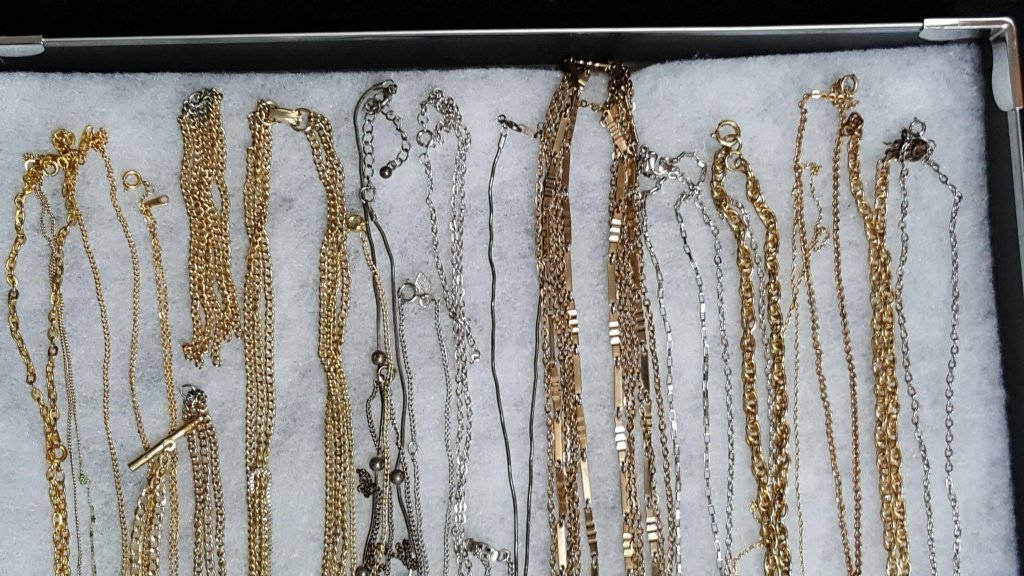 Silver and Gold Tone Chains / Necklaces - 3