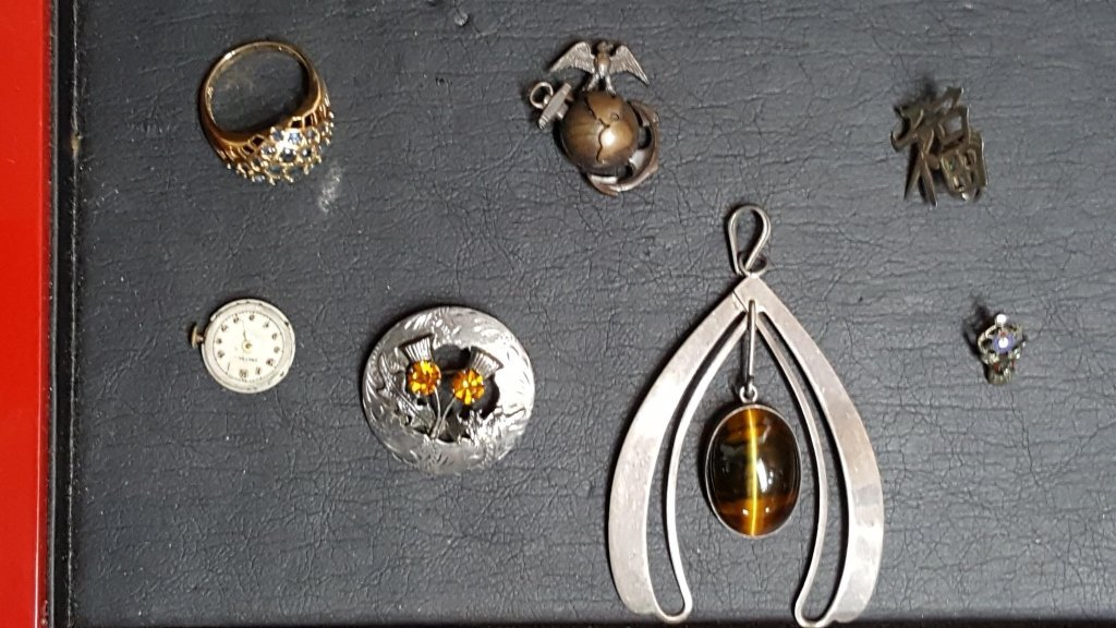 Sterling & Silver Jewelry; Tigers Eye & more - 2