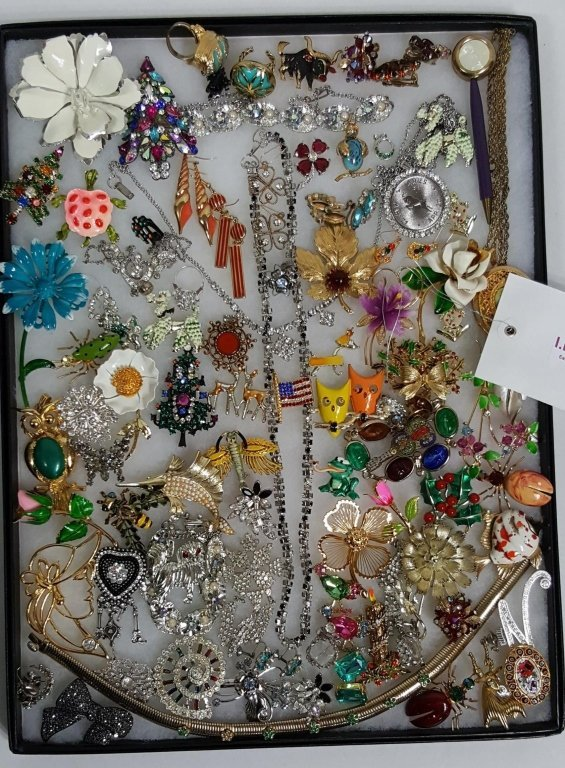 Designer Polished Stone & Enamel On Metal Jewelry