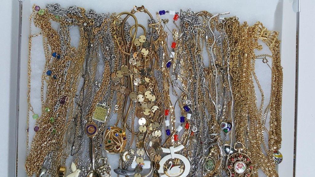 Gold & Silver Tone Necklaces & Pendants - 2