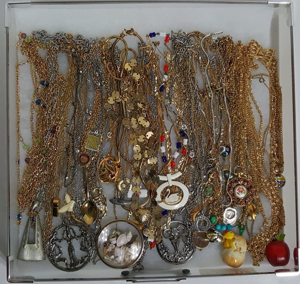 Gold & Silver Tone Necklaces & Pendants - 3