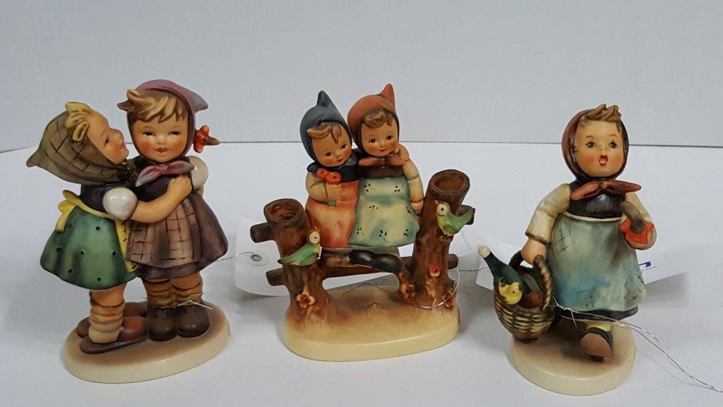 3 Hummel Figurines; 196/0, 382, and 179