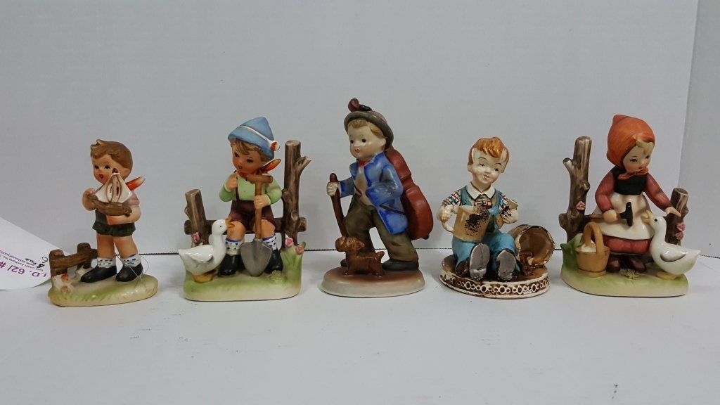 European Porcelain Figurine Collection