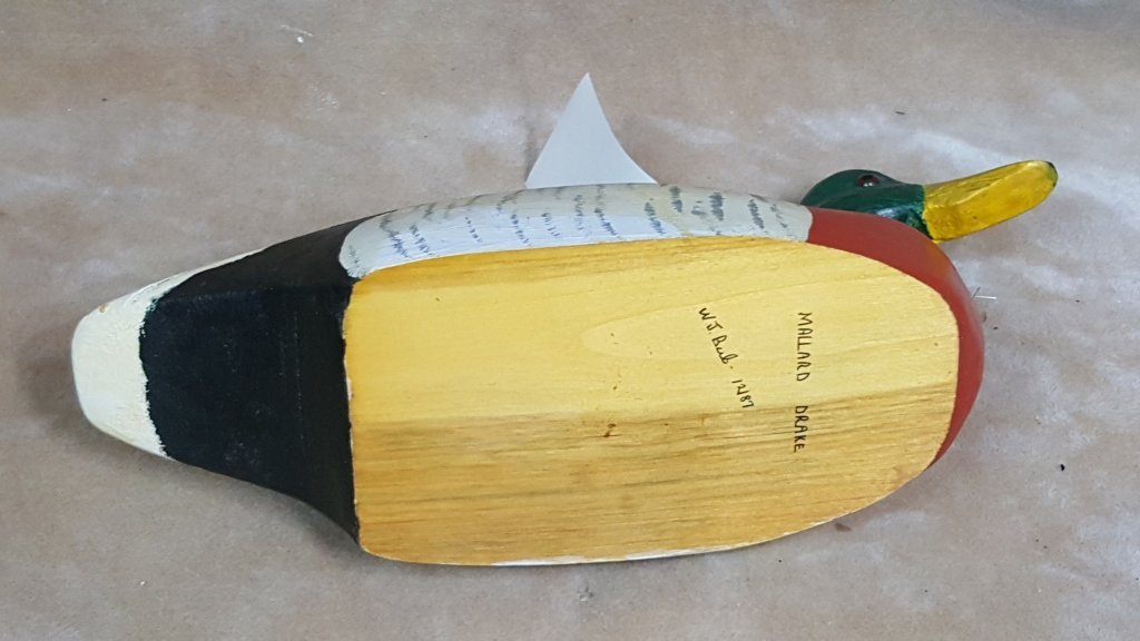 3 Hand Painted Duck Decoys - 3
