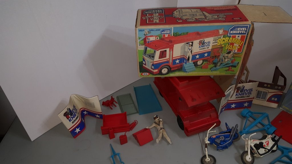 Evel Knievel Ideal Toy Lot - 2