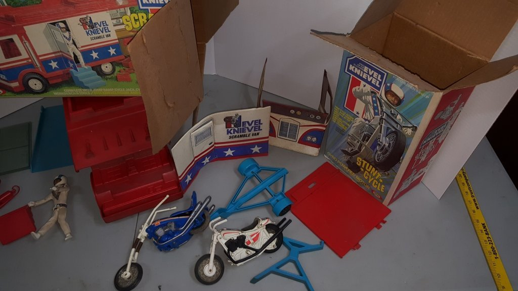 Evel Knievel Ideal Toy Lot - 3