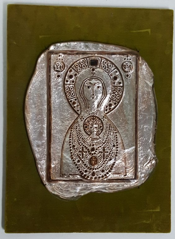 Fine Quality Vintage Venetian Glass Icon