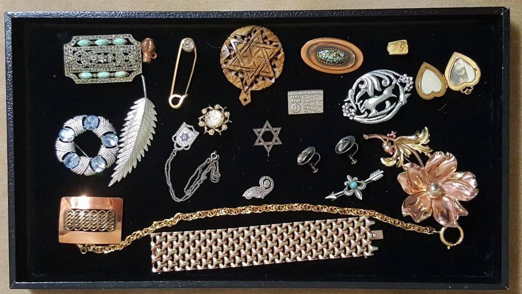 Sterling Silver, Judaica, & Designer Jewelry
