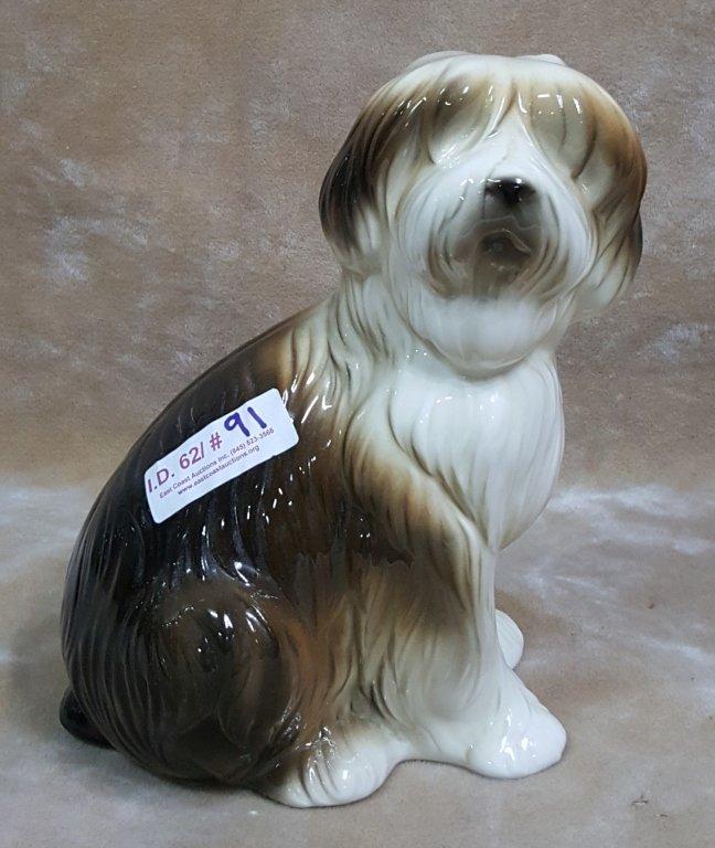 """Lladro """"Daisa"""" Large Porcelain Dog Figure"""