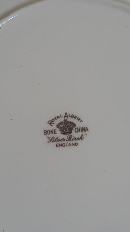 "Royal Albert ""Silver Birch"" China - 2"