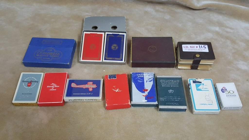 Vintage Playing / Poker Cards