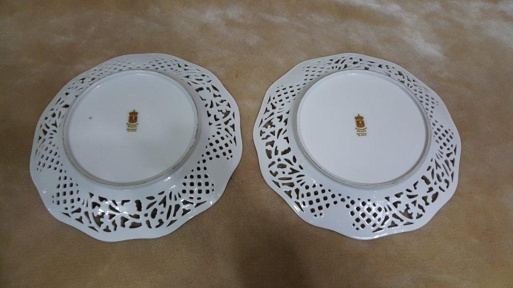 Schumann Bavaria Dresden Porcelain Plates - 2