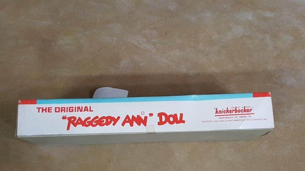 A Vintage Raggedy Ann Doll In Box - 2