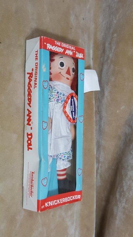 A Vintage Raggedy Ann Doll In Box - 6