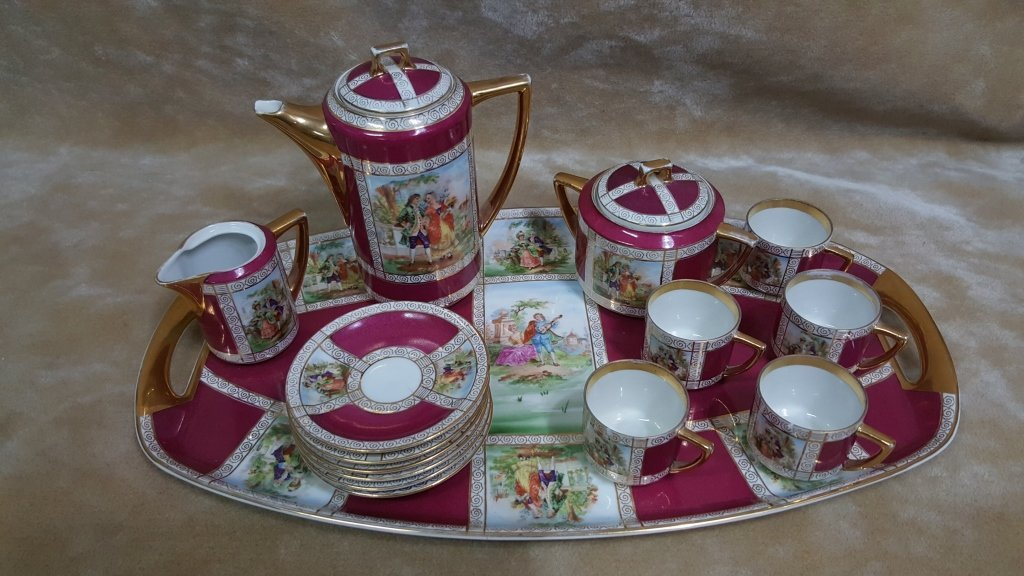 Ferdinand Bing & Co. Porcelain Service Set