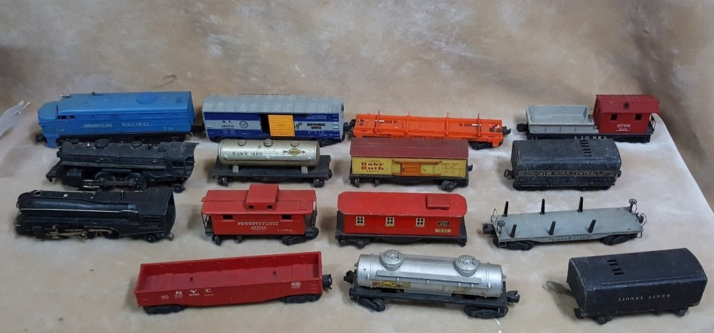 Lionel Trains; BLT B-57, Black 1684 / 221, & MORE