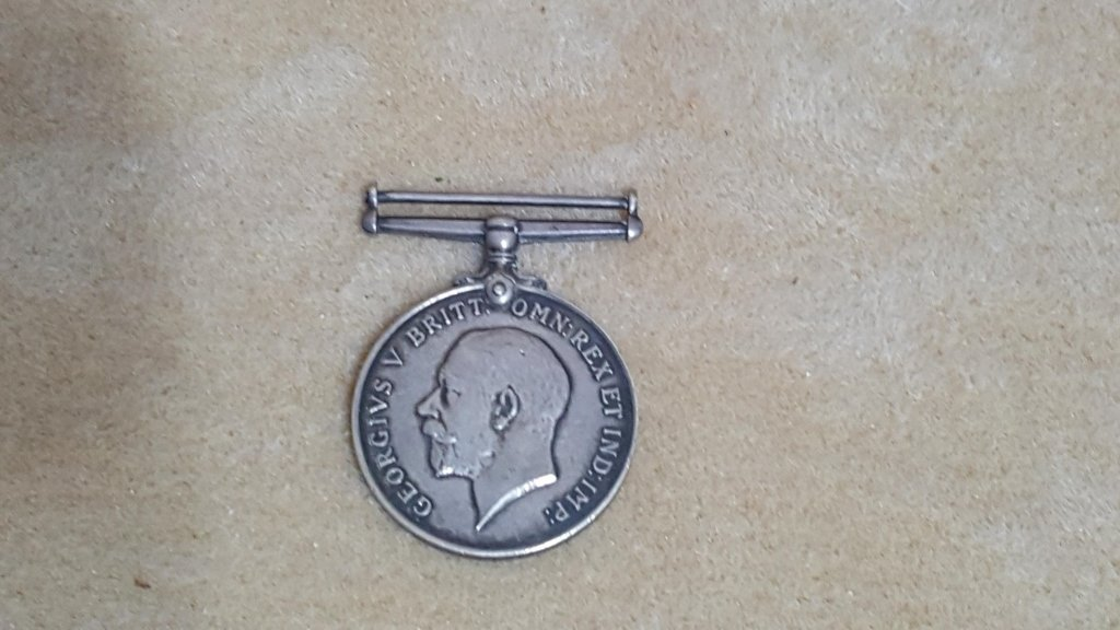 British WW1 Silver Medal