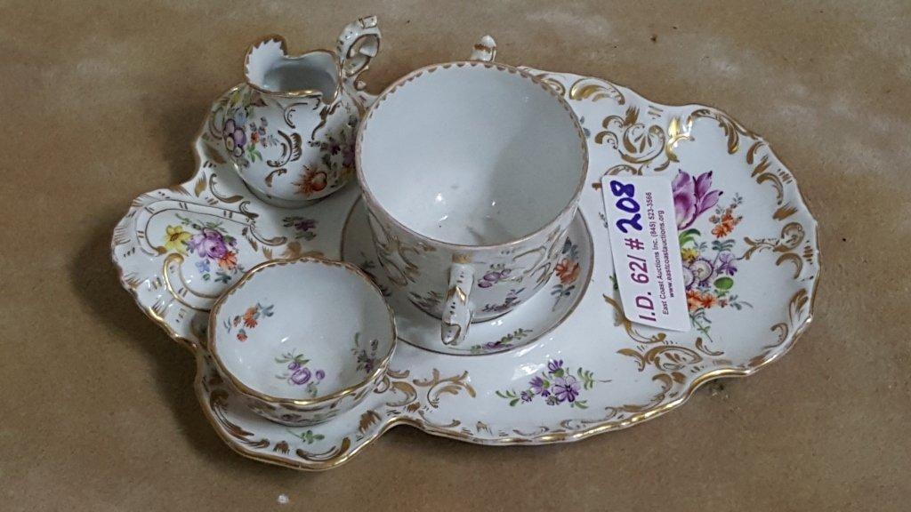 Dresden Porcelain Tea Set