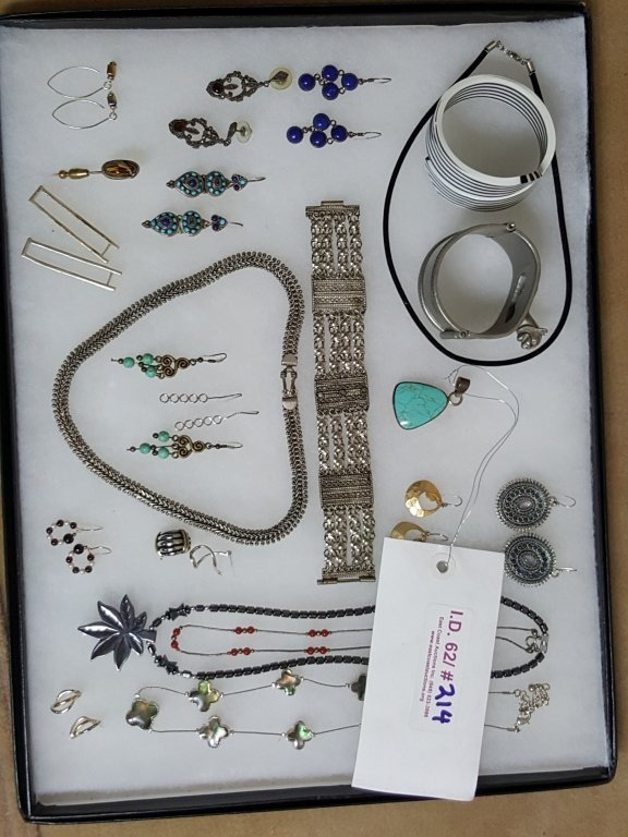 Sterling Silver, Turquoise Jewelry, & more