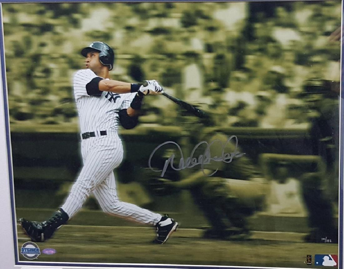 NY Yankees Derek Jeter 1st Career Grand Slam