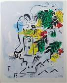 Marc Chagall Lithograph 1954 Vence 173350