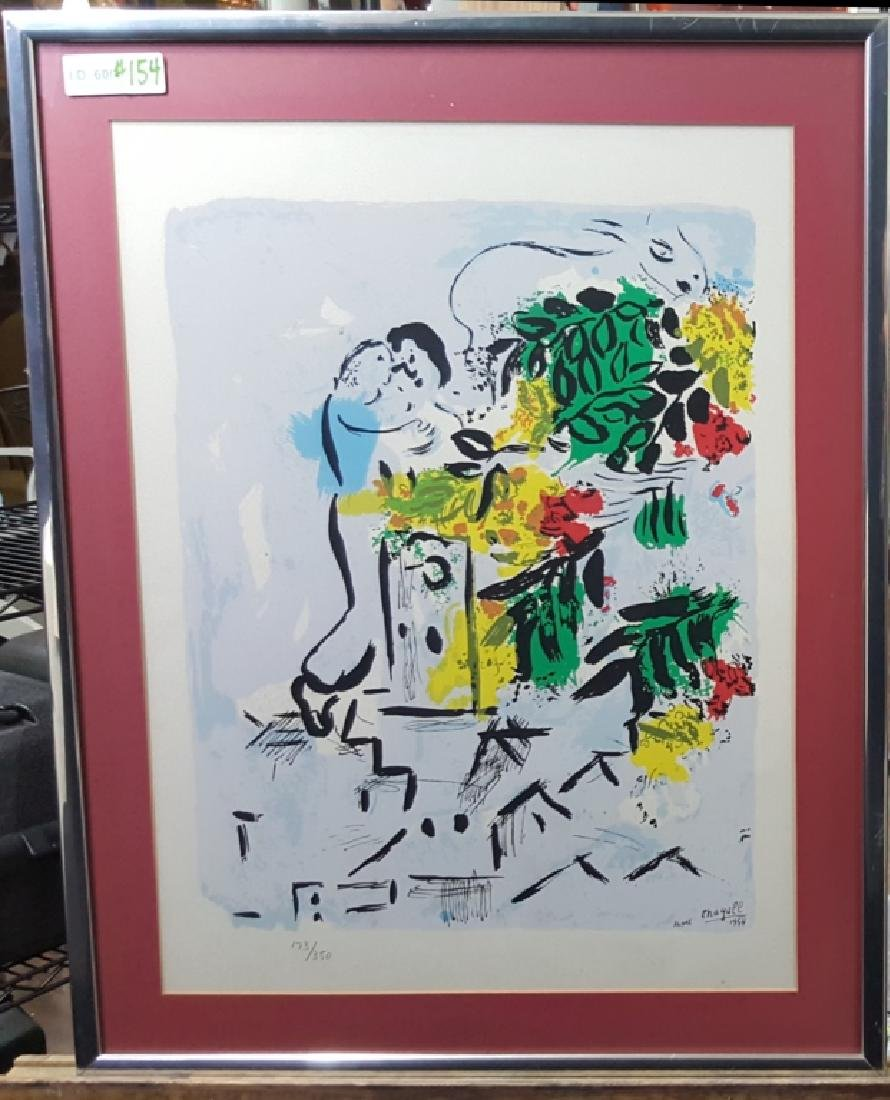 Marc Chagall Lithograph 1954 Vence 173/350 - 2