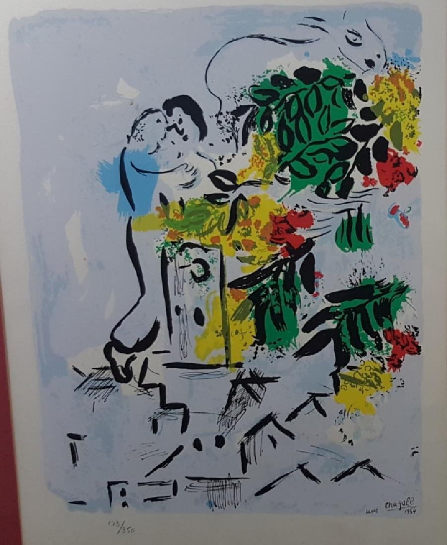Marc Chagall Lithograph 1954 Vence 173/350 - 3