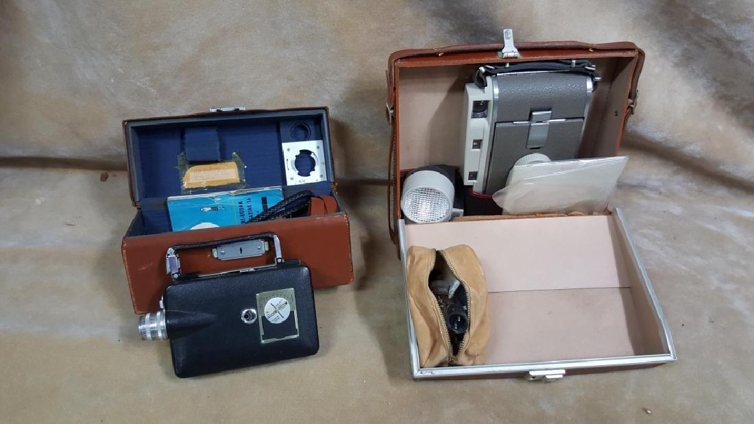 Polaroid 800 Camera & Cine-Kodak Magazine 16