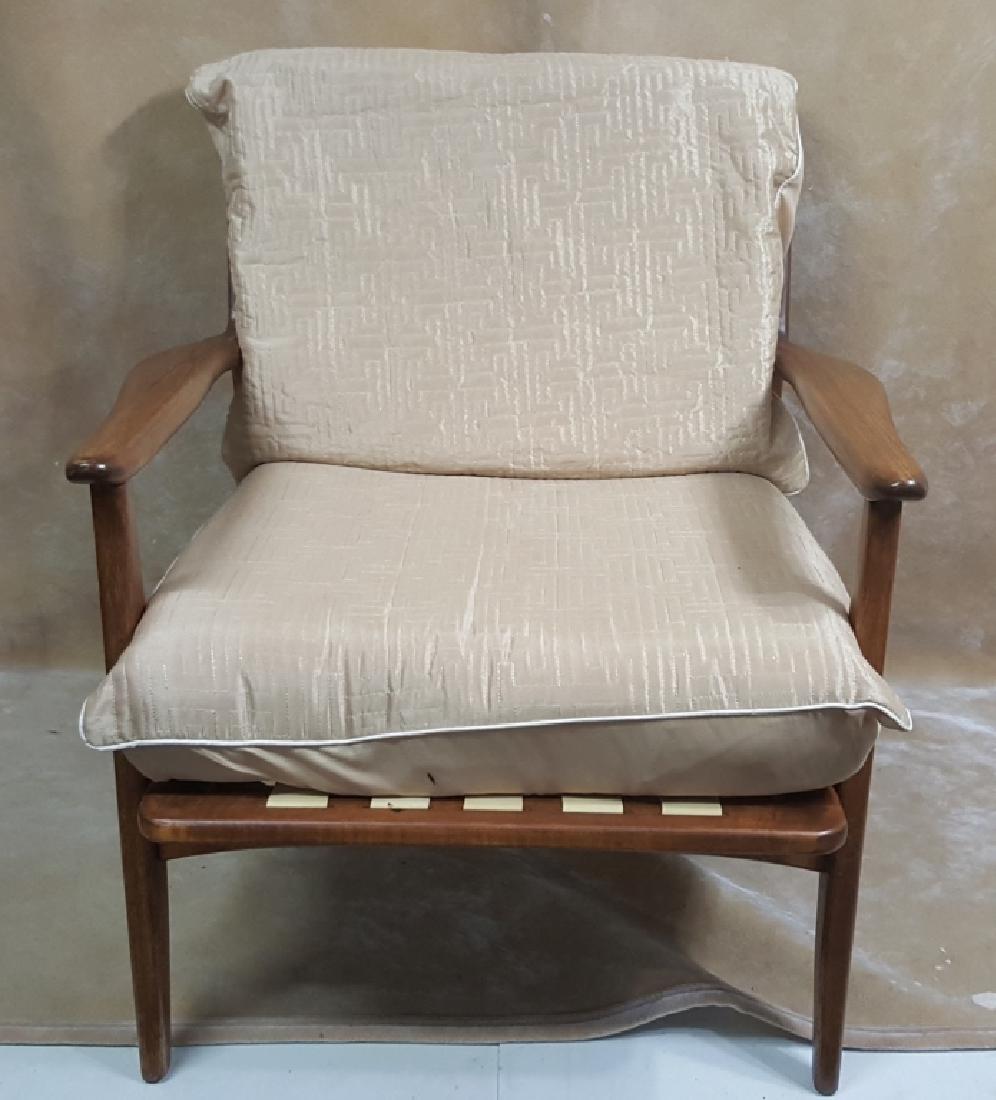 Danish Modern Walnut Armchair