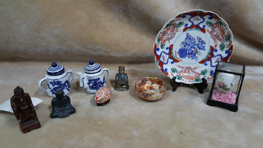 Collection of Chinese Porcelain & Statues