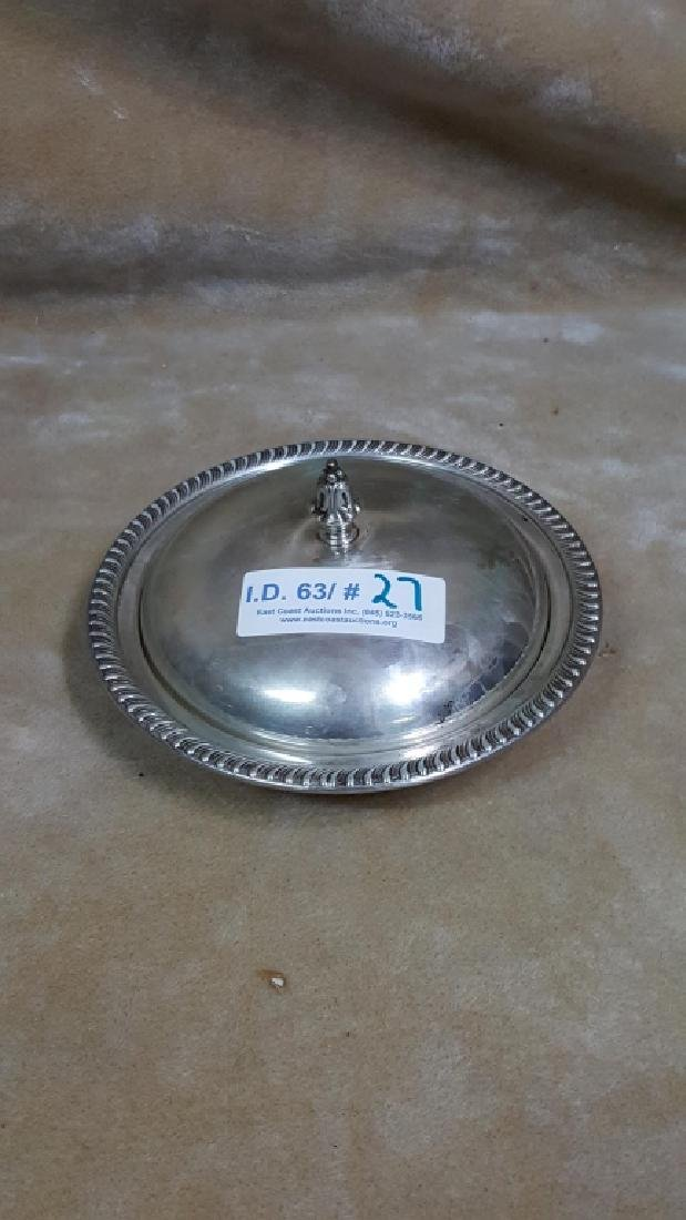Sterling Silver Warming Dish