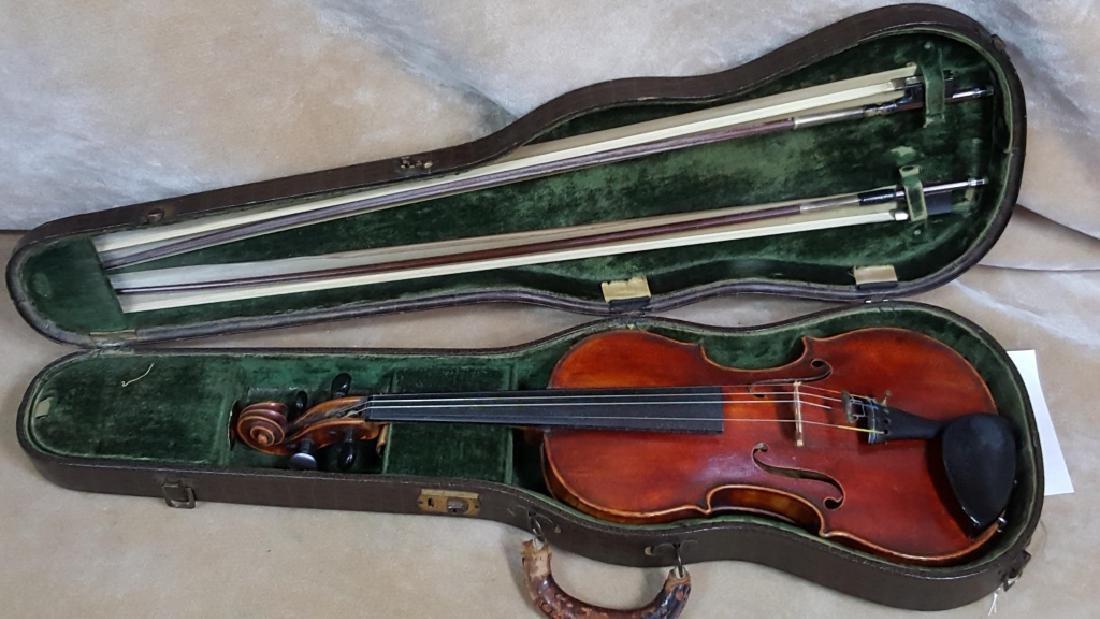 Antique John Friedrich Violin Auth. by Joseph Settin