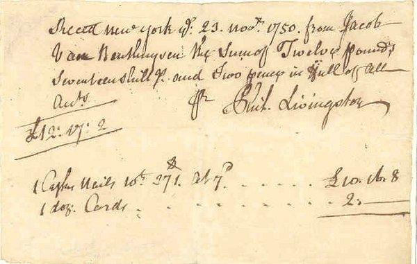 19: PHILIP LIVINGSTON (1716-78)