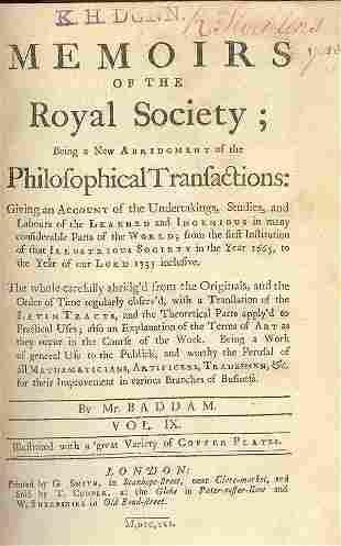 RICHARD STOCKTON (1730-81)