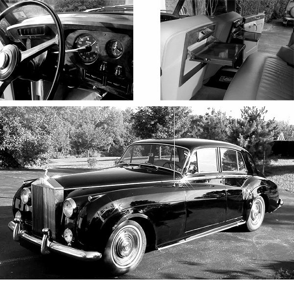 565: Elegant 1961 Rolls Royce Saloon