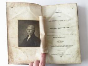 VOL. LIFE OF JEFFERSON (THOMAS) B.L. RAYNER NY 1832