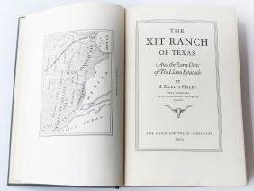 VOL. THE XIT RANCH OF TEXAS 1ST ED. J. EVETTS HALEY