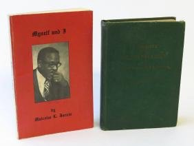 2 VOL. INCL. TRIBUTE TO THE NEGRO PREACHER 1942 SIGNED