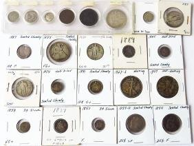 ASSORTED COINS INCL.       FACE VALUE $4.00