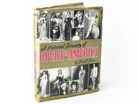 VOL. OPERA IN AMERICA, DANIEL BLUM, AUTOGRAPHS 1954