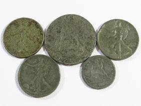 LOT (4) AMERICAN FORGERY COINS 19/20TH C.