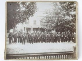 TARRYTOWN FIRE DEPT. PHOTO/CABINET CARD C. 1880