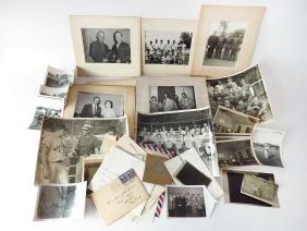 ASST VINTAGE SPORTS PHOTO'S INCL. GOSHEN NY 1950'S